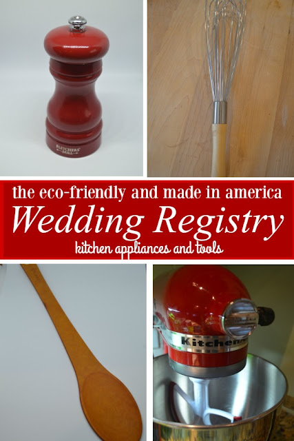 eco friendly and made in america wedding registry kitchen tools