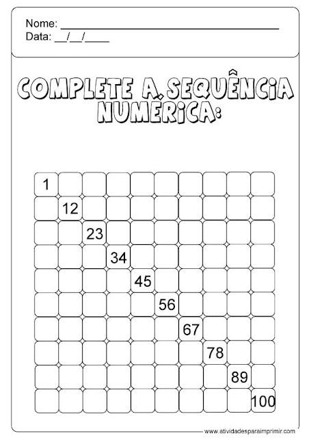 sequência numérica