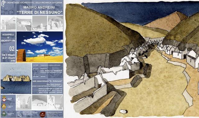 """Foggia, le """"Terre di Nessuno"""" nella mostra all'Ordine degli Architetti"""