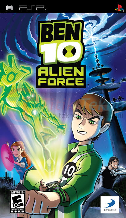 Download Game Ben 10: Alien Force Iso Cso High Compressed Psp Android