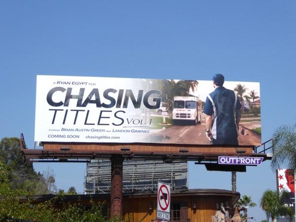 Chasing Titles Vol 1 film billboard