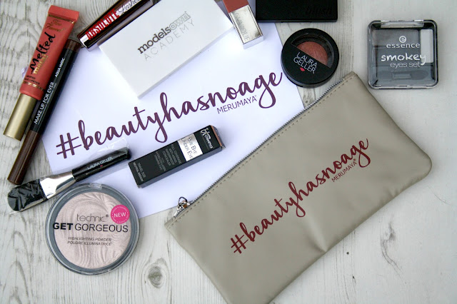 Merumaya #Beautyhasnoage Makeup Bag