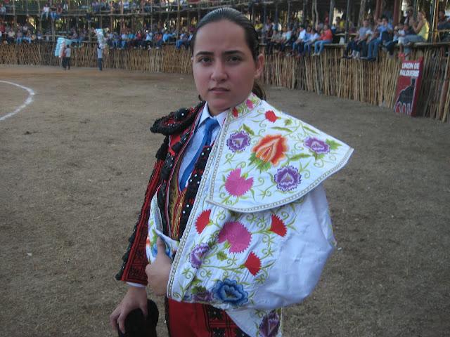 La matadora Paola San Román es parte del cartel