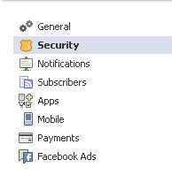 Security In Facebook