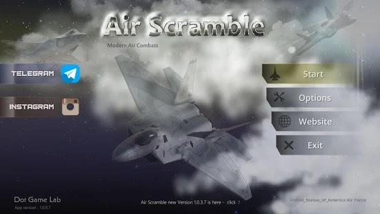 Air Scramble: Interceptor Fighter Jets Apk Free on Android Game Download
