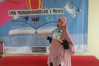 Launching Buku Belajar Menembus Batas Oleh Pelajar Kota Metro
