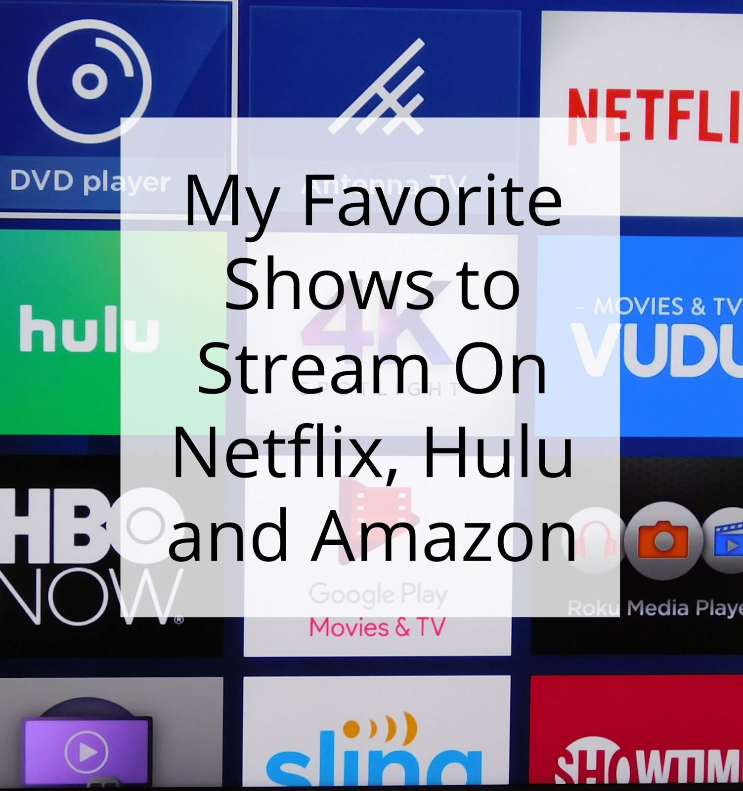 Hulu Shows My Favorite Shows Streaming Right Now On Netflix Hulu And Amazon