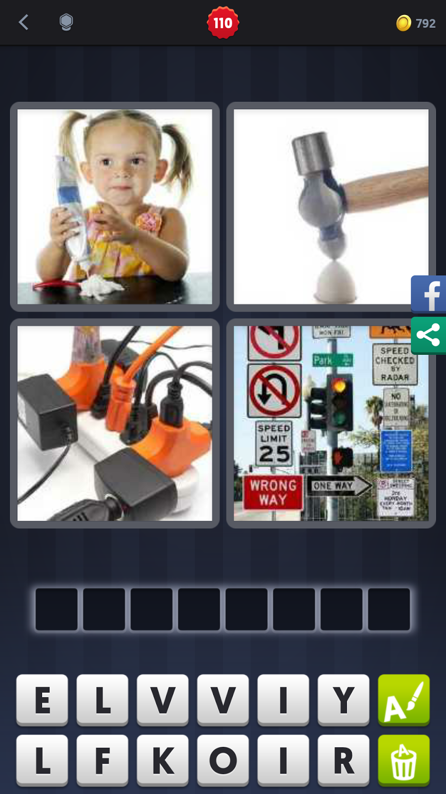 4pics1word answers 8 letters daily challenge 4 pics 1 word answers solutions level 110 overkill 16182