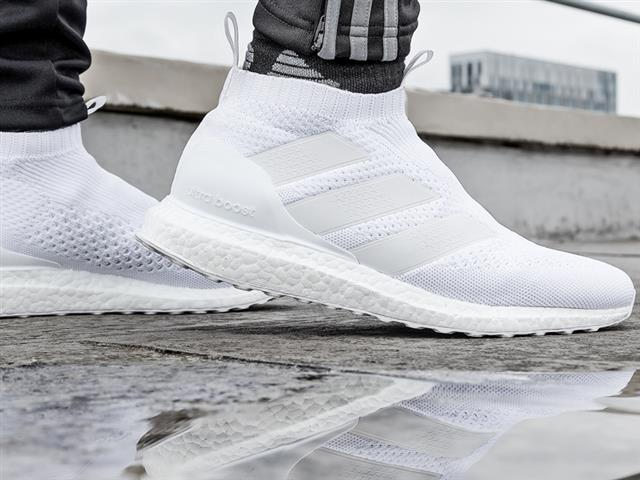 adidas Football Releases New ACE 16+ PURECONTROL UltraBOOST in Triple White aafaa6257
