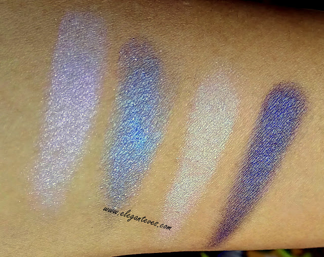 Loreal les ombres eyeshadow precious purple review india