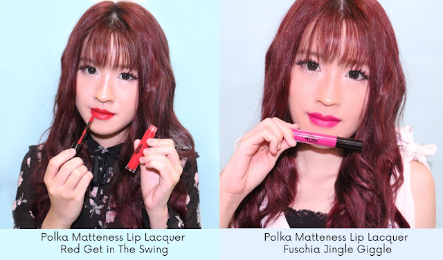 Polka Matteness Lip Lacquer review