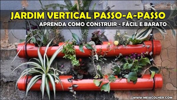 Jardim Vertical PVC