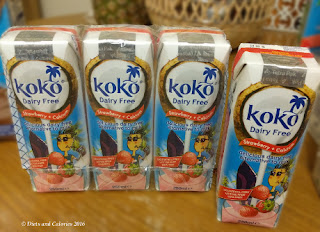Koko Dairy Free Coconut Milk Drinks strawberry