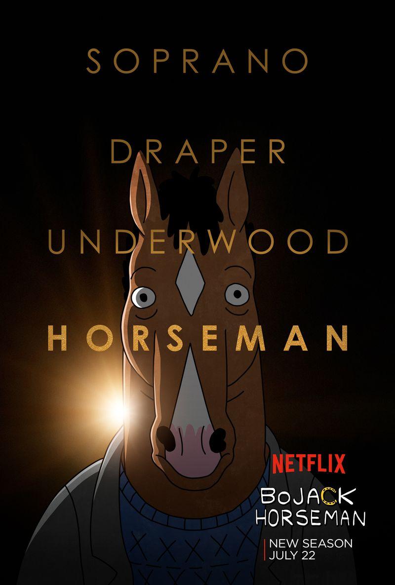 La bara volante: bojack horseman stagione 3: un uomo chiamato cavallo