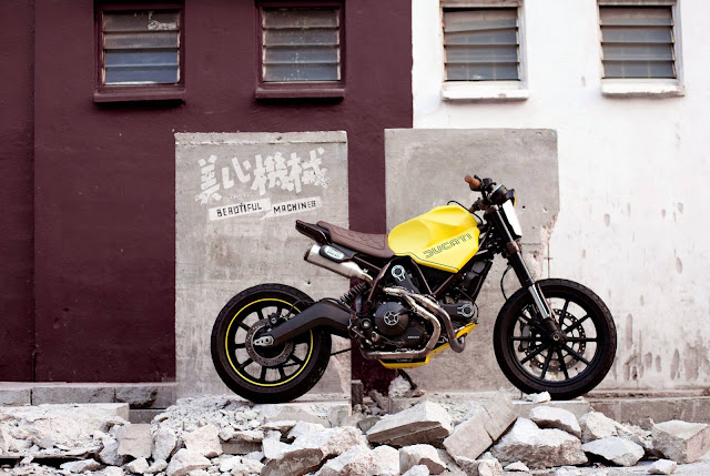 Ducati Scrambler By Beautiful Machines