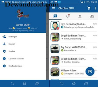 BBM Mod Simple Blue V6.1 2.9.0.45 + Move to Sd card