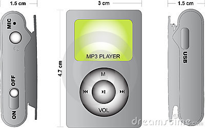 https://www.dreamstime.com/royalty-free-stock-photography-orthographic-mp3-player-image7040267#res487314