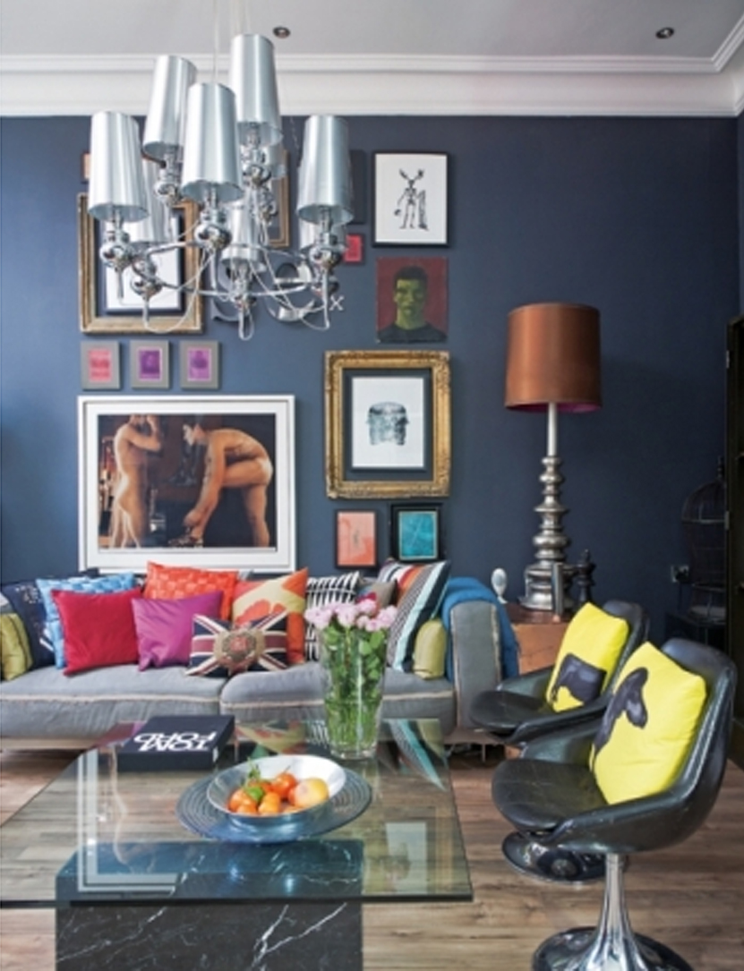 16 Funky Interior Design Ideas: BLOG: LECCION DE ESTILO EN 67 METROS CUADRADOS