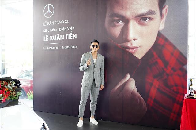 Người mẫu 9x Lê Xuân Tiền tậu Mercedes C300 AMG 2019 giá 1,9 tỷ đồng