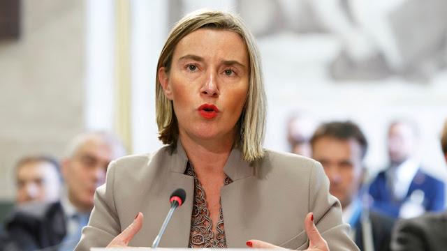 """Mogherini: """"Existe la amenaza de que la ley de la jungla sustituya a la supremacía del derecho"""""""