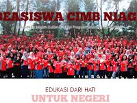 Beasiswa CIMB Niaga 2016