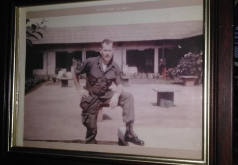 My dad (aka My Old Man, Red, Rusty, Chief, Harold and Dad)
