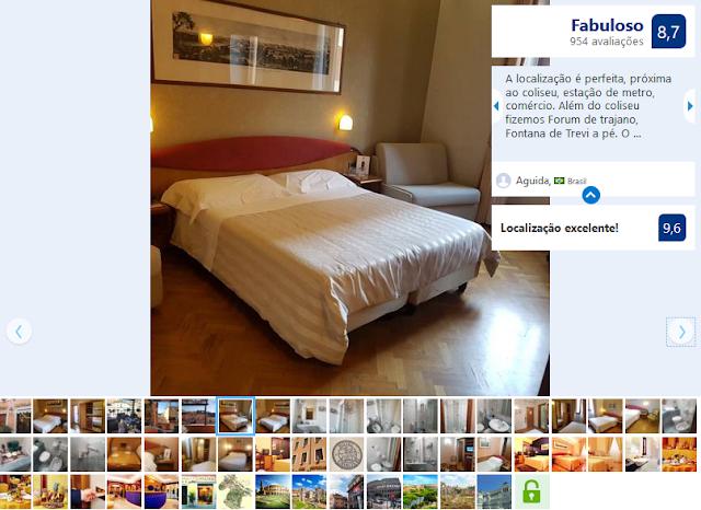 Hotel Fori Imperiali Cavalieri para ficar em Roma