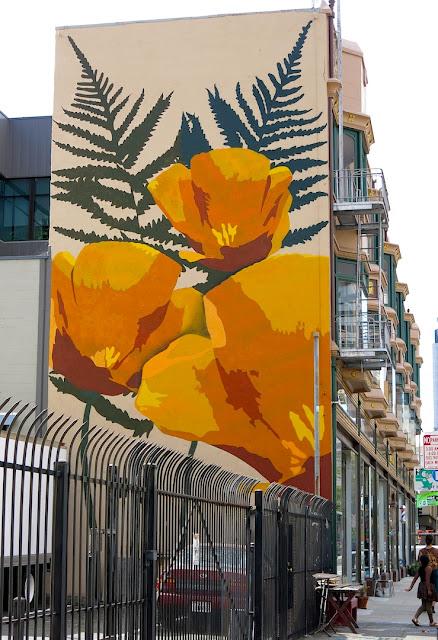 Oakland daily photo monday mural california poppy for California mural