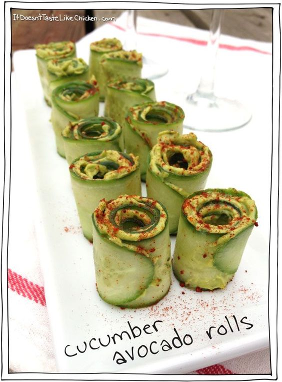 ★★★★☆ 2261 ratings | CUCUMBER AVOCADO ROLLS  #HEALTHYFOOD #EASYRECIPES #DINNER #LAUCH #DELICIOUS #EASY #HOLIDAYS #RECIPE #DESSERTS #SPECIALDIET #WORLDCUISINE #CAKE #APPETIZERS #HEALTHYRECIPES #DRINKS #COOKINGMETHOD #ITALIANRECIPES #MEAT #VEGANRECIPES #COOKIES #PASTA #FRUIT #SALAD #SOUPAPPETIZERS #NONALCOHOLICDRINKS #MEALPLANNING #VEGETABLES #SOUP #PASTRY #CHOCOLATE #DAIRY #ALCOHOLICDRINKS #BULGURSALAD #BAKING #SNACKS #BEEFRECIPES #MEATAPPETIZERS #MEXICANRECIPES #BREAD #ASIANRECIPES #SEAFOODAPPETIZERS #MUFFINS #BREAKFASTANDBRUNCH #CONDIMENTS #CUPCAKES #CHEESE #CHICKENRECIPES #PIE #COFFEE #NOBAKEDESSERTS #HEALTHYSNACKS #SEAFOOD #GRAIN #LUNCHESDINNERS #MEXICAN #QUICKBREAD #LIQUOR