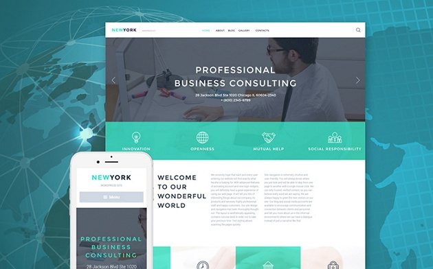 best sellers business website themes