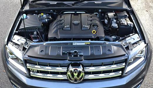 2017 Volkswagen Amarok Aventura Engine