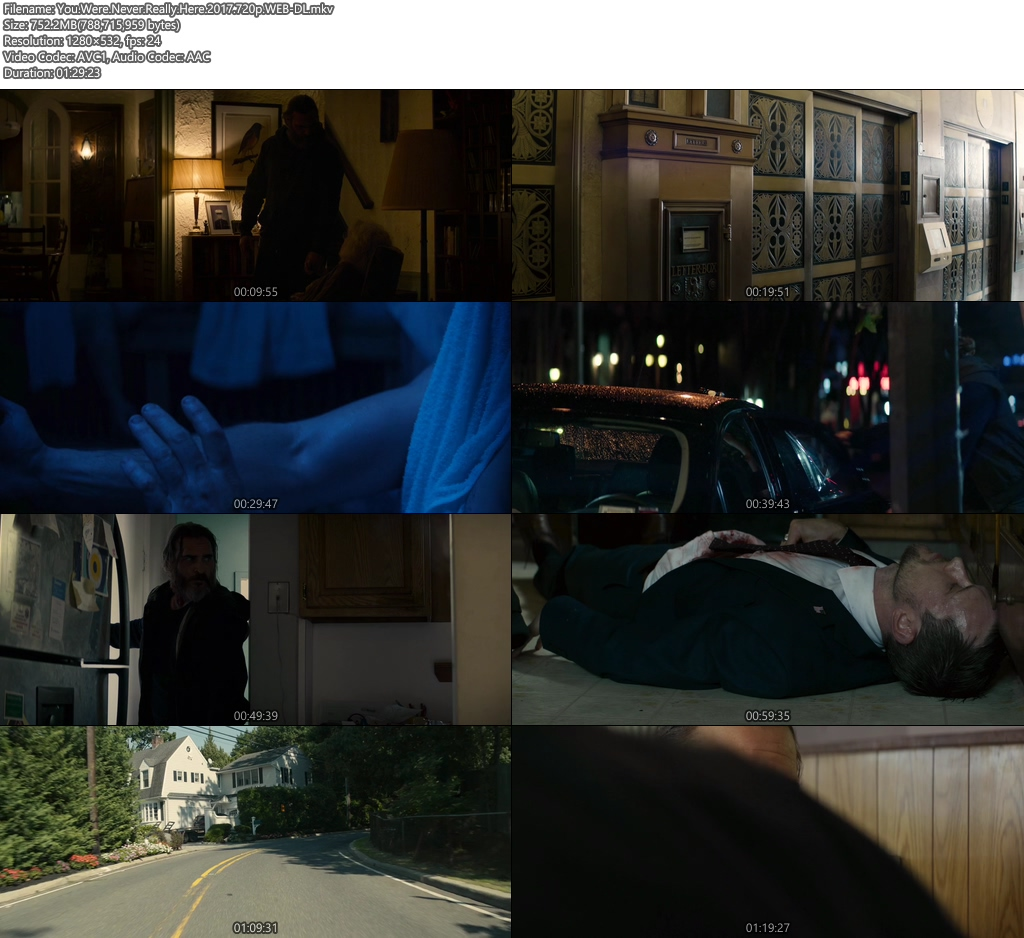 You Were Never Really Here 2017 720p WEB-DL | 300MB 480p | 100MB HEVC Screenshot