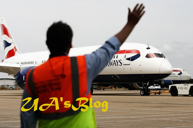 British Airways' Passengers Trapped Inside Plane At Lagos Airport