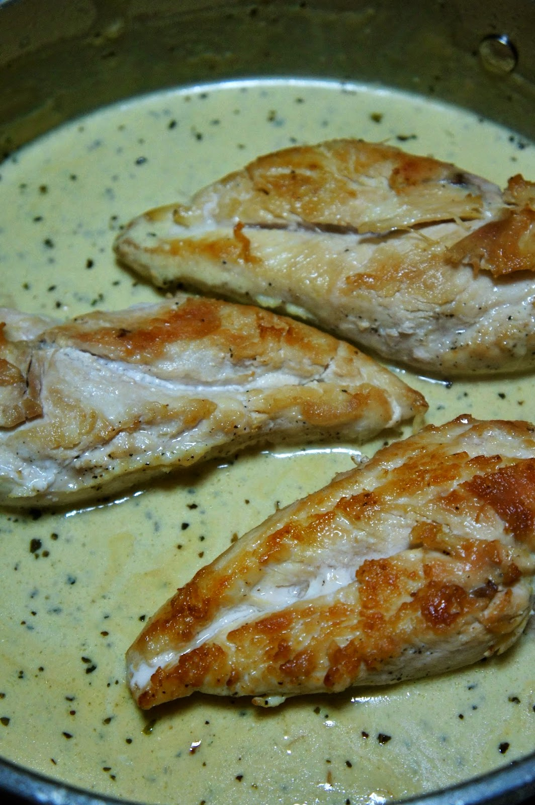 Chicken with Mustard Cream Sauce: Savory Sweet and Satisfying