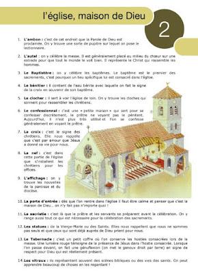 ORGANISATION D'eglise