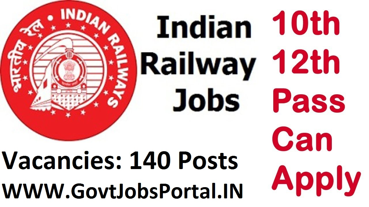 Indian Railways Recruitment for 144 Various Posts 2018