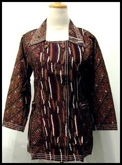 Itulah Gambar Dari Model Baju Batik Kantor Moga Ibuk Ibu Atau Cewek