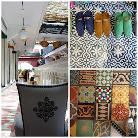 Café, restaurant, boutique déco, à Marrakech
