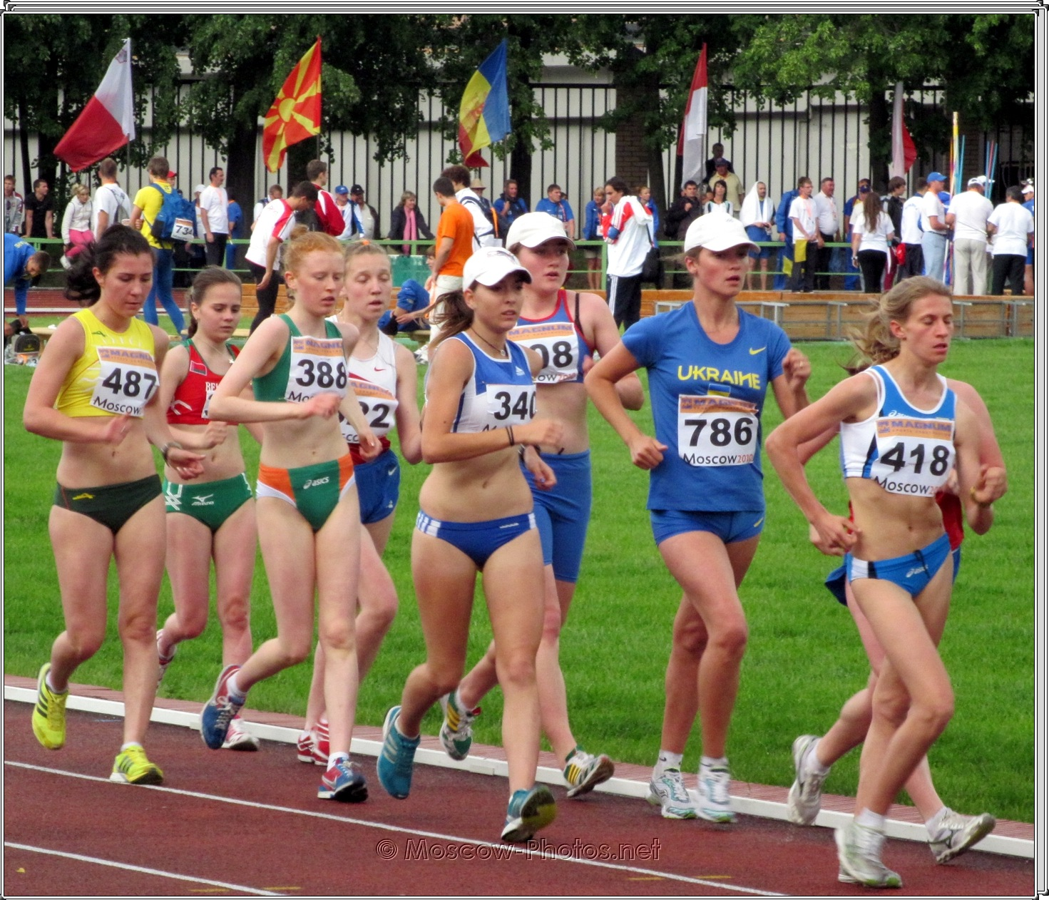 Long-distance runners at Moscow Youth Trials
