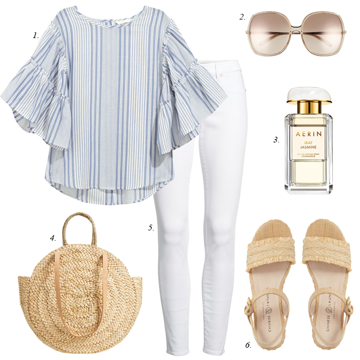 espadrille summer outfit