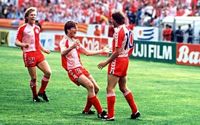 Denmark debutan Piala Dunia 1986