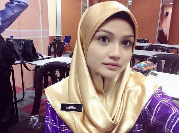 Gambar cikgu Aishah yang cantik, cun, comel