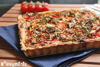Quiche-de-tomates-semisecos-rucula-y-mozzarella