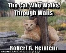 Meme de humor sobre Heinlein