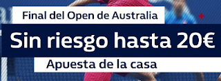william hill promocion 20 euros Final Open Australia Masculino 2018