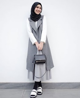 model fashion hijab remaja casual