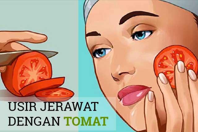 Ternyata Tomat Bisa Mengatasi Jerawat Batu di Hidung