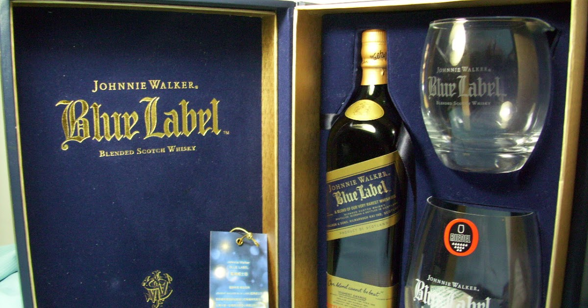 It's just a photo of Transformative Johnnie Walker Blue Label Crystal Glasses