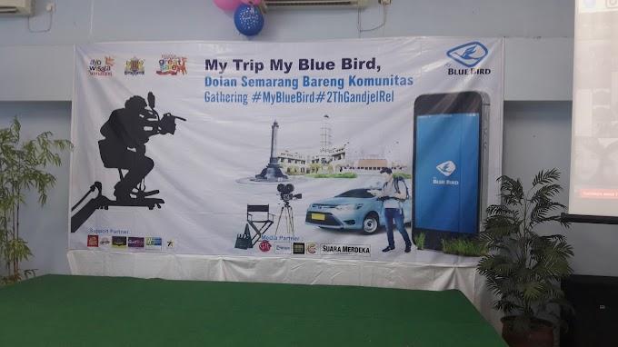 Meriahnya Syukuran Ulang Tahun Gandjel Rel dan Blogger Gathering My Trip My Blue Bird