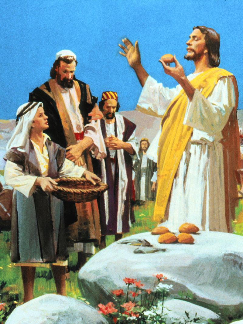 IMAGENS BBLICAS A MULTIPLICAO DOS PEIXES  JESUS O